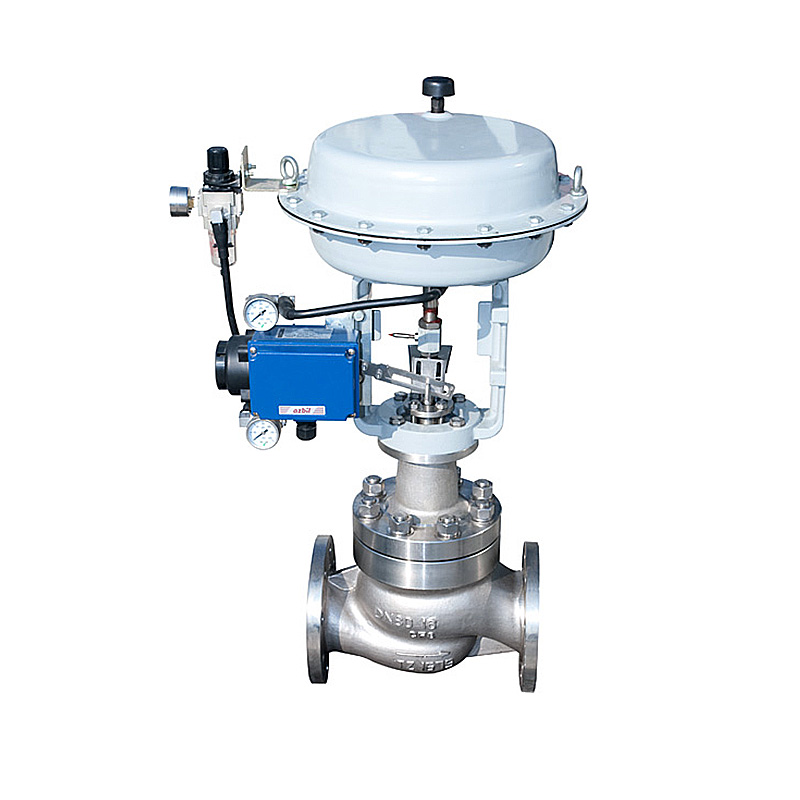 Extension Type II Pneumatic Film Multistage Pressure-reduction Low-noise Control Valve