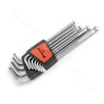 12Pc Long Arm Ball End Hex Key Set