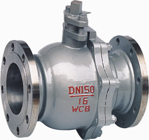 The floating ball valve
