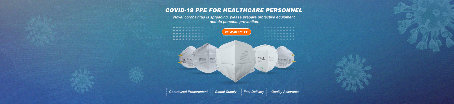 COVID-19 PPE FOR HEALTHCARE PERSONNEL